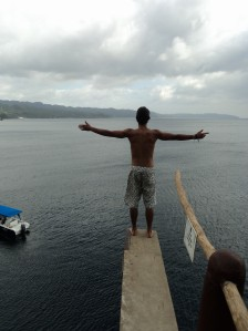Taking a view before the 15 meter (50 feet)