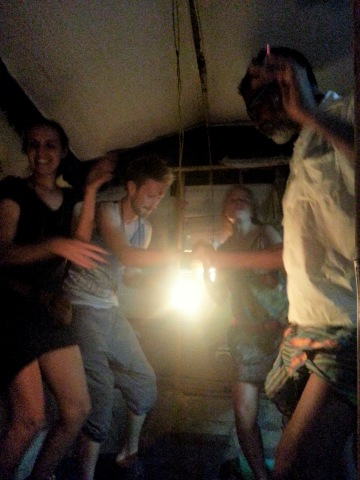 impromptu sober dance party!