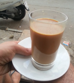 A big delicious Chai, or spiced Indian Tea