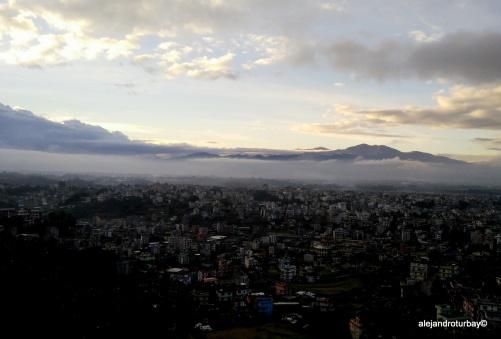 Kathmandu from Kopan