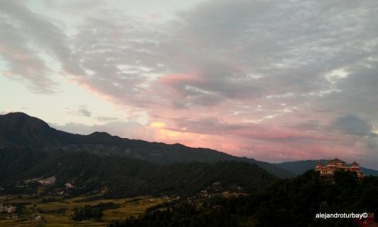 A beautiful view from Kopan Monastery
