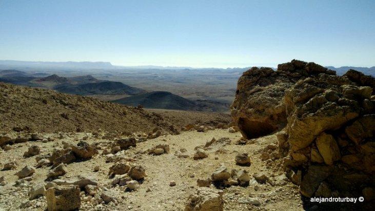 Stunning Negev Desert and Mtizpe Ramon Crater