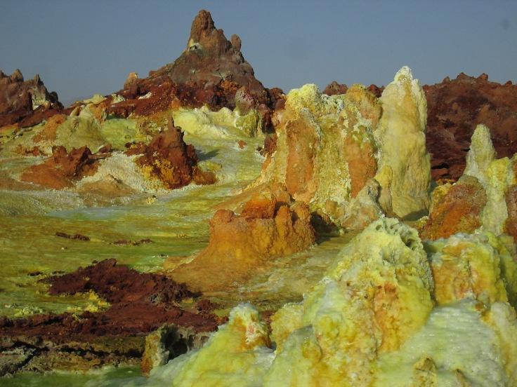 Dallol Sulfur Springs. Danakil Depression. Ethiopia