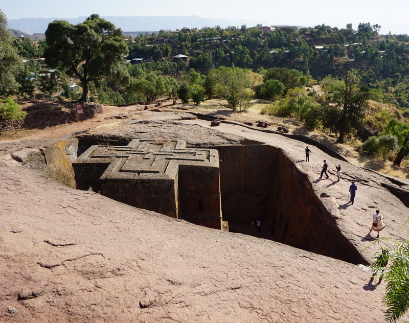 Saint George Church, Lalibela. Ethiopia