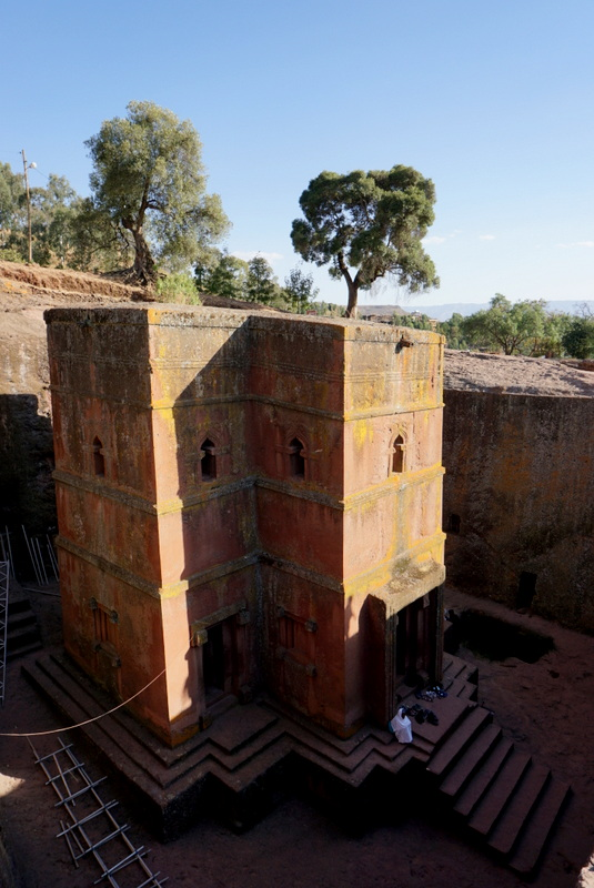 Saint George Church. Lalibela, Ethiopia