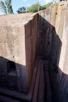 Details of the intricacies of carving these churches out of rock