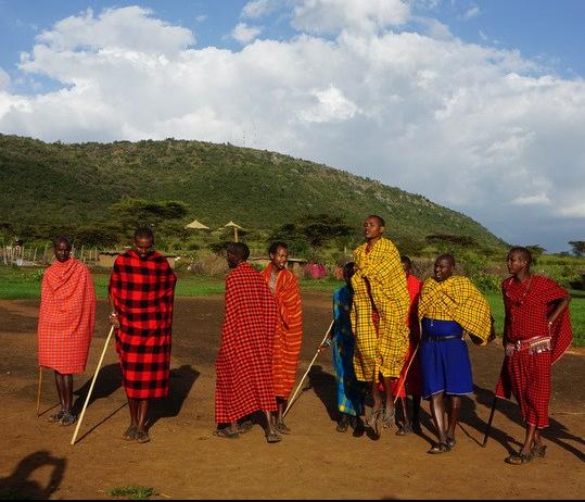 maasai jumping dance