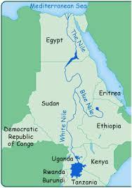 Nile map