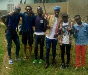 My new brothers minus Emmanuel